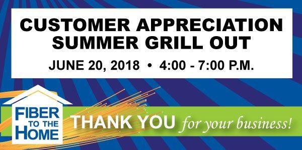 Customer Appreciation Summer Grill Out