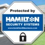 Protected by Hamilton Security Systems.