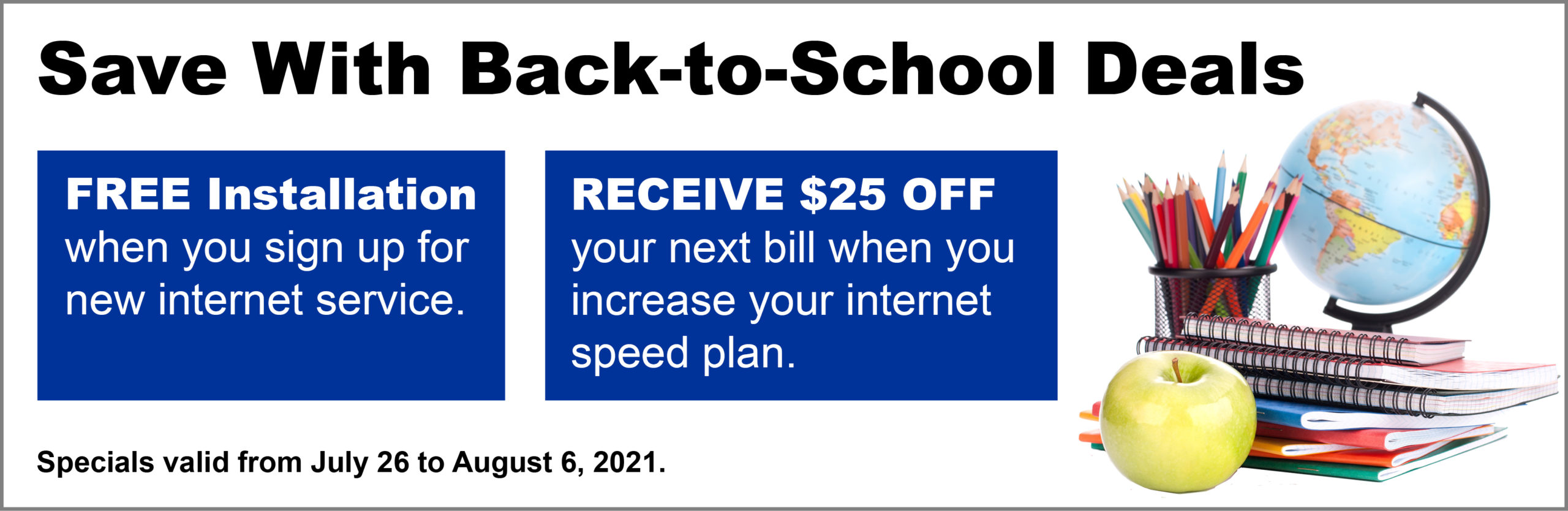 Back To School Deals