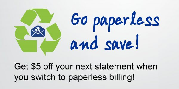 Save with E-Bill